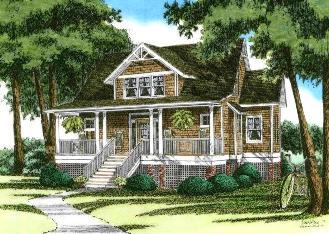 Silverhill Beach Cottage House Plans Small Beach House Plans Beach House Plans