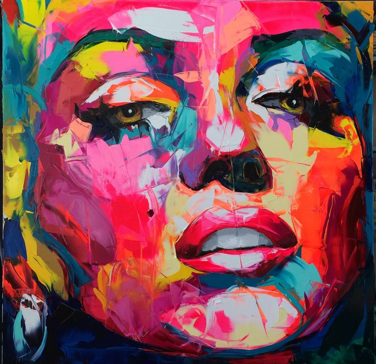 Françoise Nielly (2)M Technique/use of color | Abstrakte ...