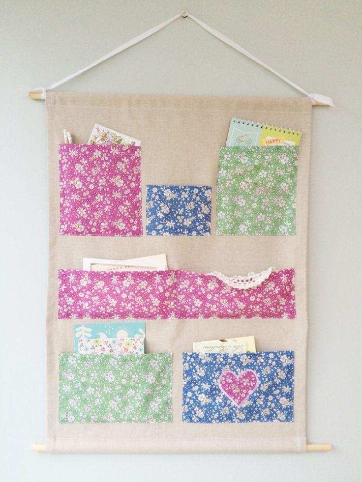 Hanging Tidy - free pattern @ love sewing magazine