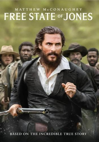 Have you seen it yet? 'Cause I think you should. It stars Matthew McConaughey and Gugu Mbatha-Raw. Here's how Redbox describes it: Banding together with other small farmers and local slaves, Southern farmer Newt Knight launches an uprising that leads Jones County, Mississippi to secede from the Confederacy, creating a Free State of Jones. Knight continues his struggle into Reconstruction and distinguishes him as a compelling, if controversial, figure of defiance long after the war. Based on…