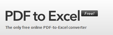 PDF to EXCEL - Turn that pdf file into a workable Excel file in just a few minutes. Upload your pdf, enter your email address, and a spreadsheet will be sent to you.