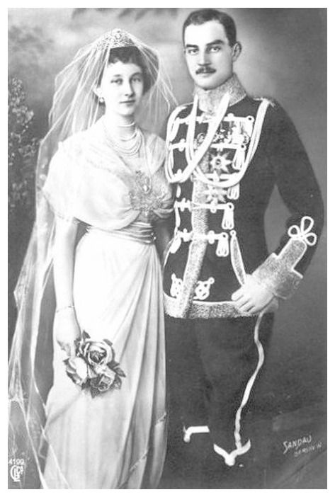 1913 (24 May) Princess Victoria Louise of Prussia and Prince Ernst August of Hanover by Sandau