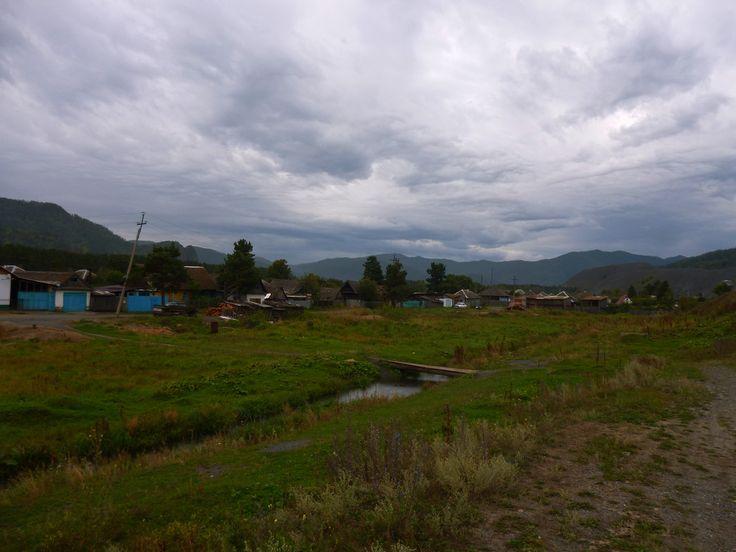 on the outskirts of Abaza, Khakassia