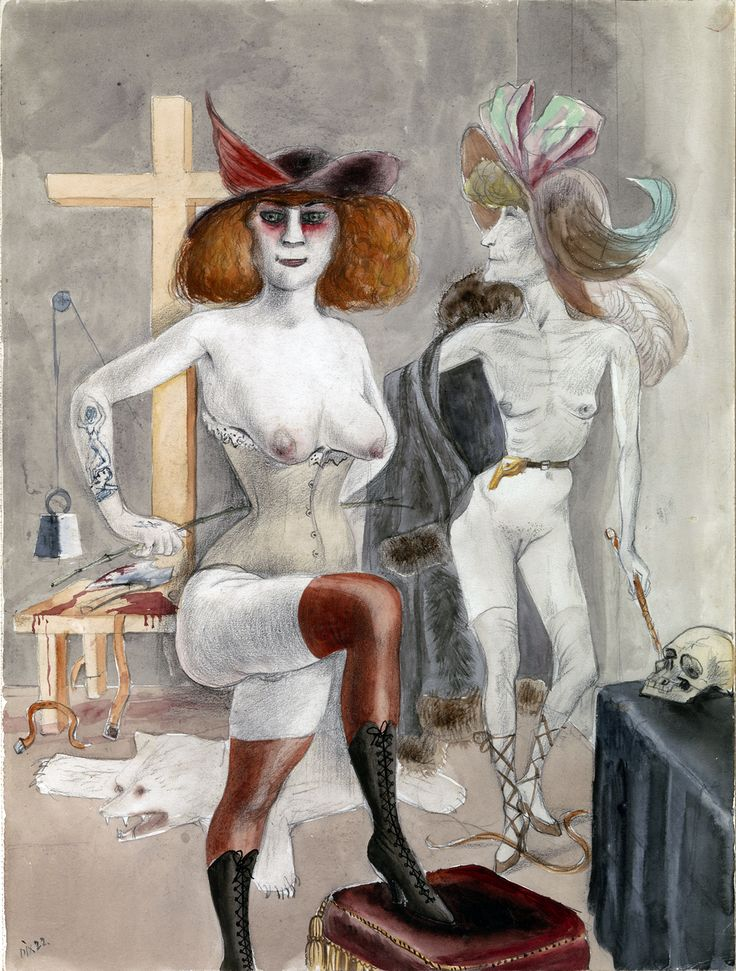 Otto Dix - Dedicated to Sadists, 1922 Recommended by RAFO, Galleria Morcote & swissartgroup