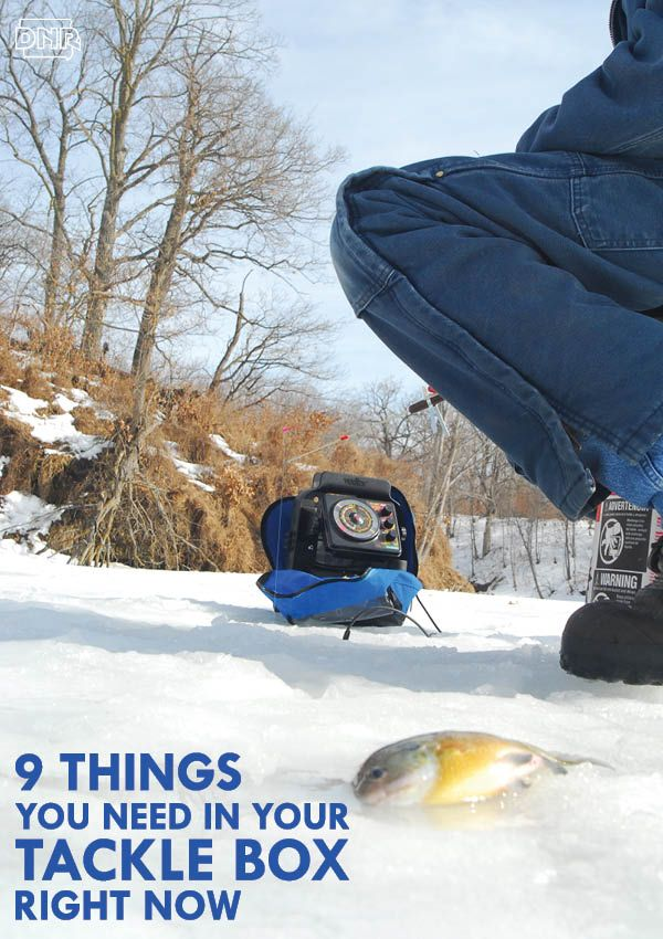 9 things you need in your tackle box right now for ice for Ice fishing iowa
