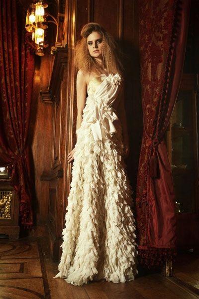 Luksusowa suknia ślubna couture