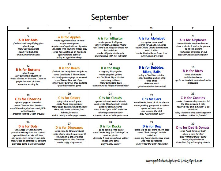 LESSON PLANS:  Preschool - September.pdf