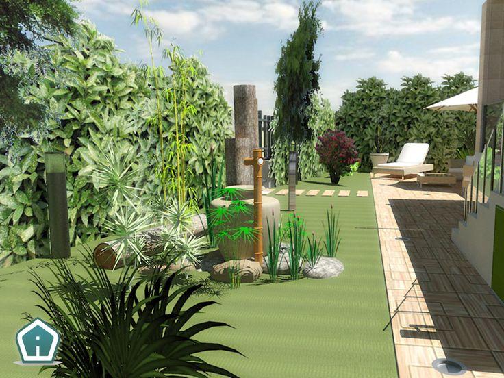 3d Garden Design - design and services: apartment exterior rendering