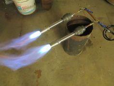 DIY Knifemaker's Info Center: Gas Forge Build 2: Gas System