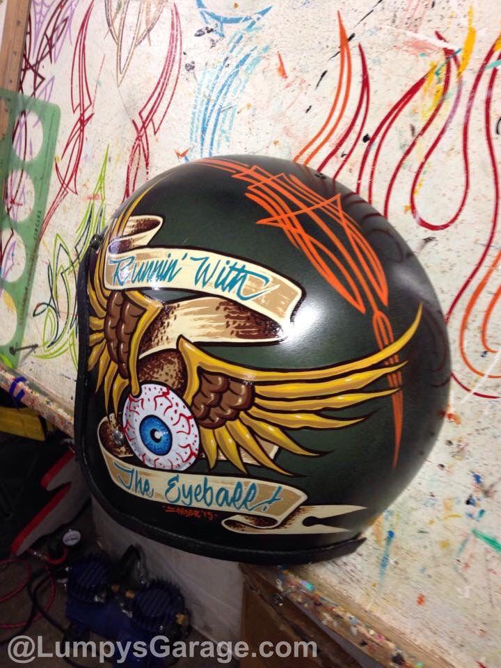 Helmet Art Helmet Paint Custom Paint Motorcycle Vintage Helmet