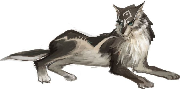 Wolf Link from Twilight Princess I literally just found this, awesome :D