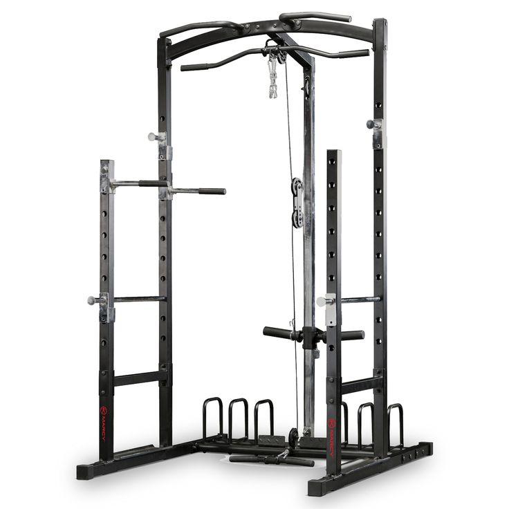 The Marcy Eclipse RS5000 Power Rack Gym With High & Low Pulley System at £599.99.