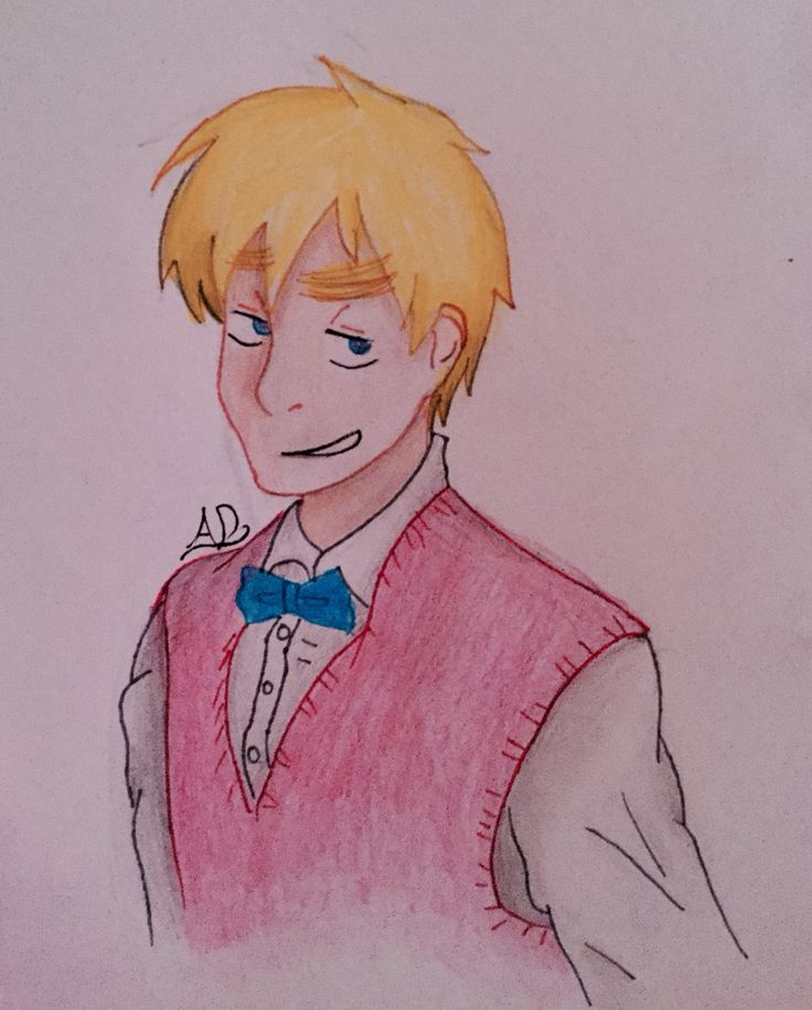 Hetalia: Another Colour, 2P!England/Oliver Kirkland. I used a reference for this so I won't take complete credit for it.