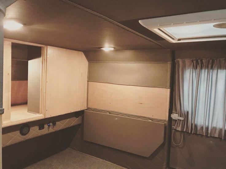 camping interior caravan off-road trailer mini caravan