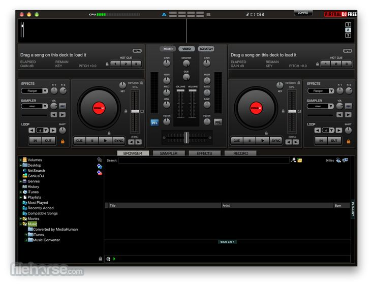 Play music like a real DJ from your MAC using latest