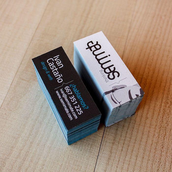 Para esta nueva etapa hemos querido diseñar un nuevo branding, en el caso de la tarjeta de presentación queríamos un formato y unas calidades diferentes, con un diseño sencillo que invite al dialogo y sobre todo tenga presente el equipo humano que hay detrás de nuestro estudio.   #branding #tarjetas #cards #semimate #design