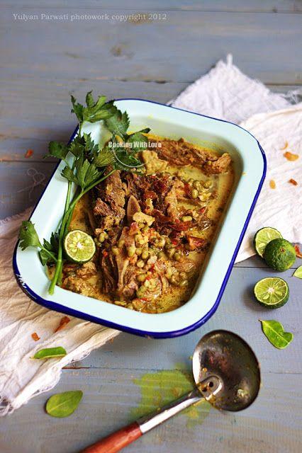 Gulai Kacang Hijau / Mung Bean Curry | Cooking with Love
