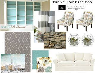 The yellow cape cod high class shabby chic design plan for Cape cod style bedroom ideas