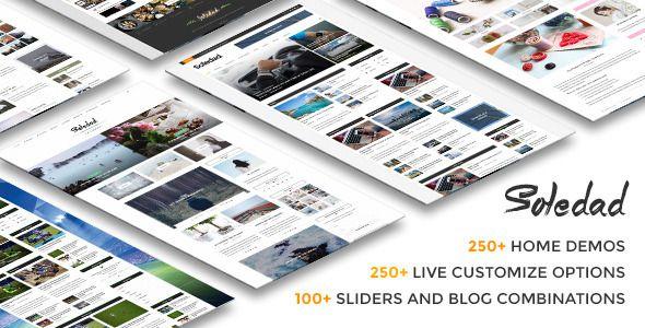 Soledad - Multi-Concept Blog/Magazine WP Theme