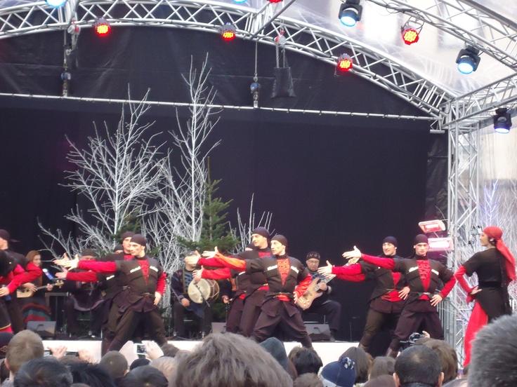 Georgia dancing