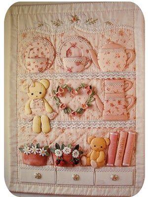sweet 3-D quilt