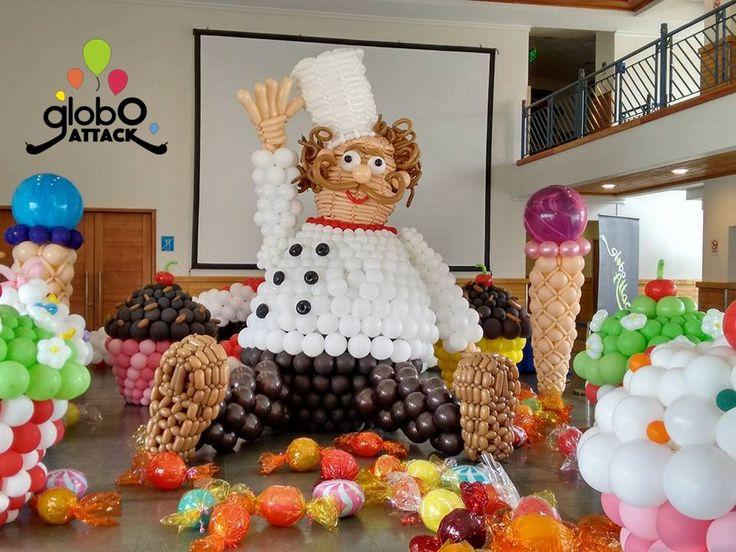 Dulcelandia , Globos , Carnaval de la primavera 2015