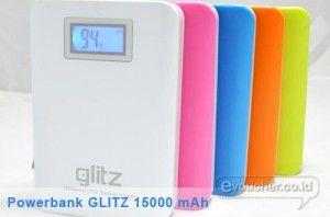 Isi kembali Daya Listrik Gadgetmu Mengunakan Powerbank NEW GLITZ 15000 mAh Hanya Rp.280,000 - www.evoucher.co.id #Promo #Diskon #Jual  Klik > http://evoucher.co.id/deal/Powerbank-NEW-GLITZ-15000-mAh  Simpan dan gunakan energi listrik untuk gadgetmu menggunakan Power Bank NEW GLITZ 15000 mAh ini,  Pengiriman akan dilakukan mulai tanggal 2014-06-29