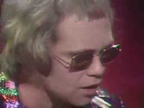 Elton John - Tiny Dancer, the lyrics written by Bernie Taupin (EJ's writing partner) about his then girlfirend who was as the  song says, the seamstress for the band. Brilliant number, one of EJ's best.