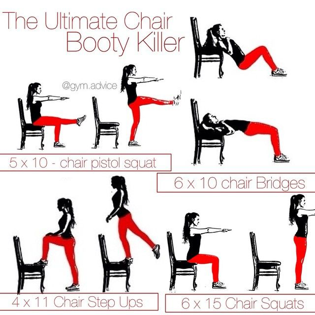 Step By Step Finding Indispensable Issues For Strength Training: THE ULTIMATE CHAIR BOOTY KILLER . Hey Lovely