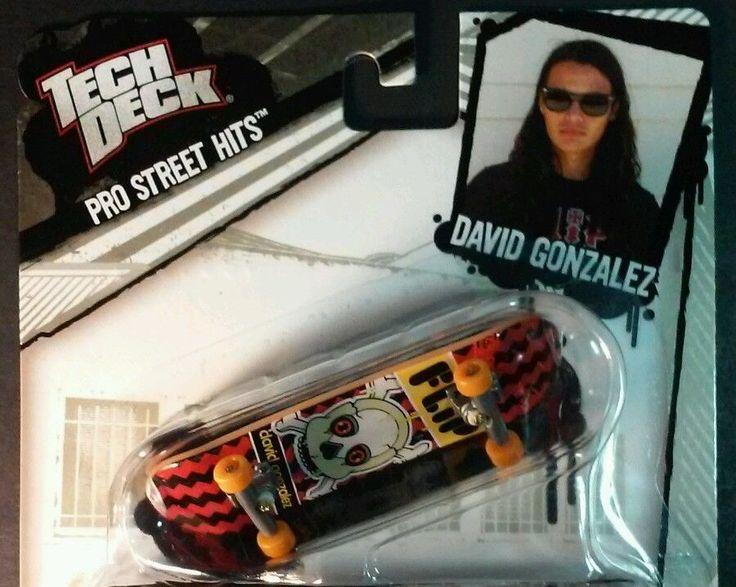 Tech Deck Pro Street Hits David Gonzalez 2011 Flip Skateboard Fingerboard 96 mm in Toys & Hobbies, Action Figures, Sports | eBay