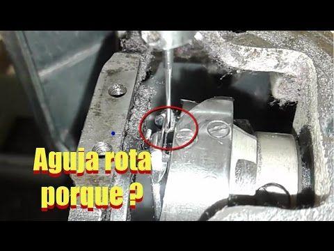 Porque la recta PARTE AGUJAS ( soluccion paso a paso ) | mecanica confec...