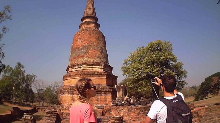 Ayutthaya City Culture 20170205 Sao AM - Cycling in Ayutthaya - Radfahre...