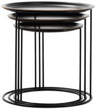 Tray tables in black - BoConcept