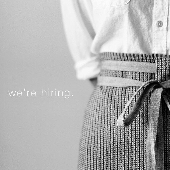 hello friends ! We're hiring for a full time graphic design/creative position as well as some event and studio interns ! Visit Sunday-suppers.com and go to the about page for details. Thanks !