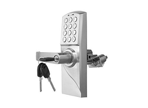 Digital ElectronicCode Keyless Keypad Security Entry Door Lock LEFT Handle US Ship ** Check out the image by visiting the link.
