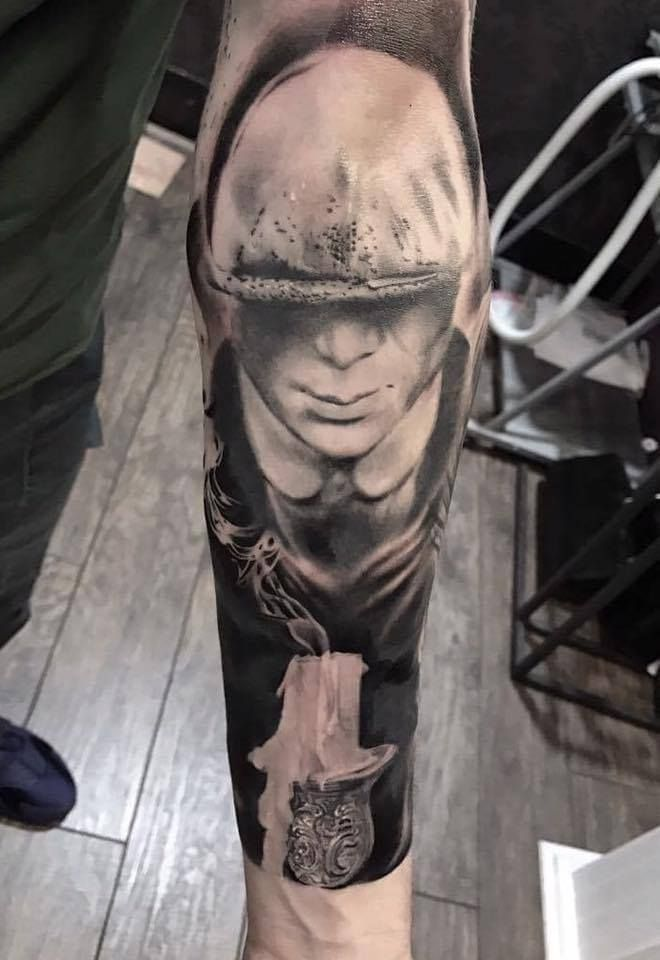 Peaky Blinders Tattoo By Marius P Limited Availability At