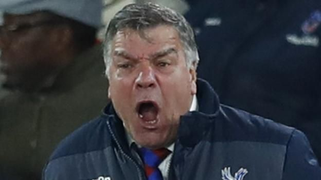 Sam Allardyce: Crystal Palace boss says fixture scheduling contributed to defeat