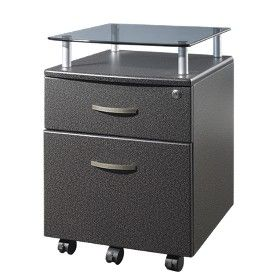 Rolling and Locking File Cabinet - Gray : Target Mobile