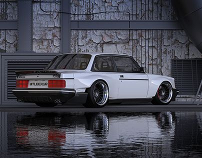 """Check out new work on my @Behance portfolio: """"Volvo 242 Mad Stance"""" be.net/…"""