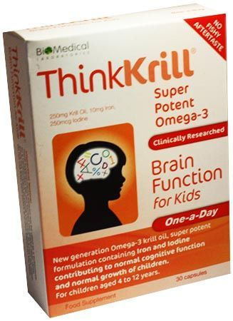 Thinkkrill Super Potent Omega-3 Brain Function Thinkkrill Super Potent Omega-3 Brain Function for Kids 30 Capsules: Express Chemist offer fast delivery and friendly, reliable service. Buy Thinkkrill Super Potent Omega-3 Brain Function for Kids 30  http://www.MightGet.com/january-2017-11/thinkkrill-super-potent-omega-3-brain-function.asp