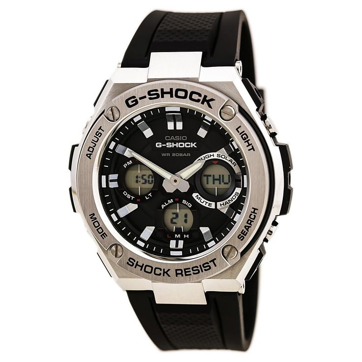 CRAZY DEAL TODAY ONLY  CASIO G SHOCK  GSTS110-1A SOLAR CHRONOGRAPHY WATCH