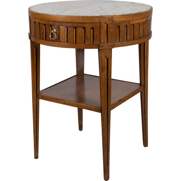 18th c. Louis XVI Side Table #rubylane #antiquefurniture