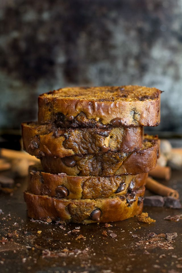 This one bowl Greek yogurt pumpkin bread is made without butter, oil, or refined sugar but so tender and flavourful that you'd never be able to tell!