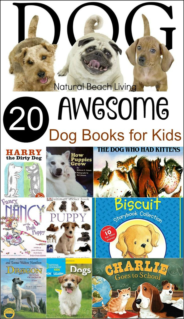 20 Awesome Dog Books For Kids