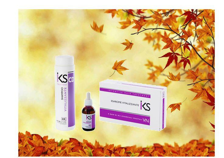Trattamento vitalizzante IKS  da salone e da mantenimento a base di oli essenziali vegetali. Shampoo e…