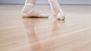 Portable, inexpensive dance floors offer a practice surface for all dancers.