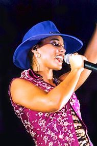 Alicia Keys--She became the first female to have an MTV Unplugged album to debut at number one and the highest since Nirvana in 1994.[2]