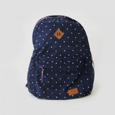 Redcurrent Navy Ultra Portable Backpack $35.00.