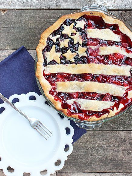What's more American than apple pie? Flag pie, obviously. Learn how to make this recipe for the holiday weekend.