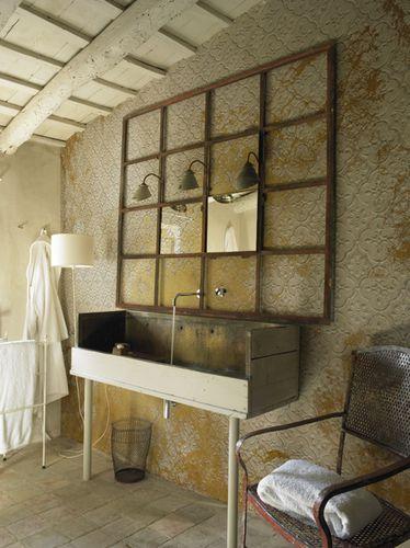 Papier peint à motif / classique / aspect verre / lavable DECHIRE by Casa 1796 Wall&Deco